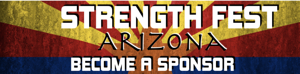 Sponsor Strength Fest Arizona